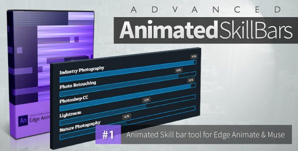 Advanced Animated Skill Bars - Edge Animate