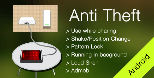 Anti Theft Android App - CodeCanyon Item for Sale