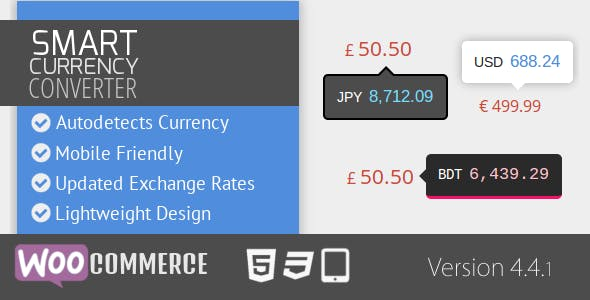 Smart Currency Converter for WooCommerce