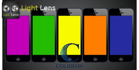 Light Lens - iPhone flashlight and magnifier.