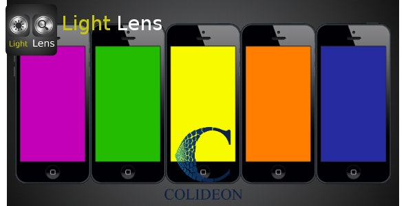 Light Lens - iPhone flashlight and magnifier. - CodeCanyon Item for Sale