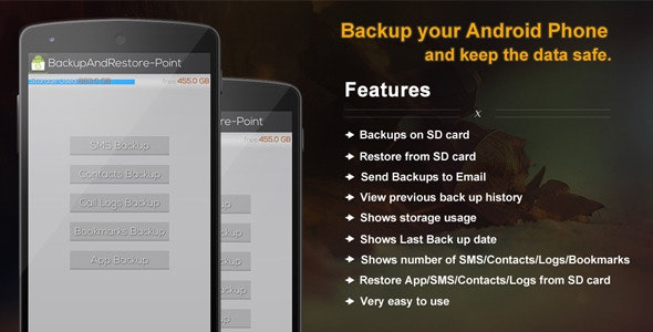 Backup and Restore Point - CodeCanyon Item for Sale