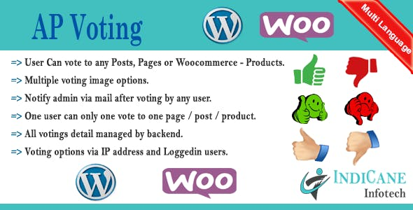WordPress / WooCommerce Voting