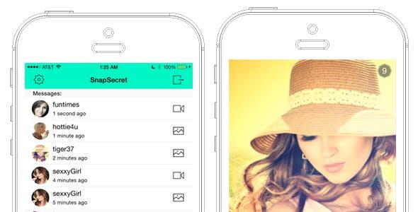 SnapSecret (Snapchat clone)