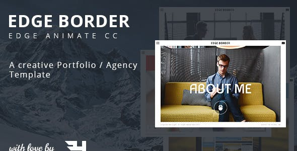 Edge Border - Creative Portfolio / Agency Template