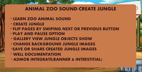 Animal Zoo Sound-Create Jungle - CodeCanyon Item for Sale