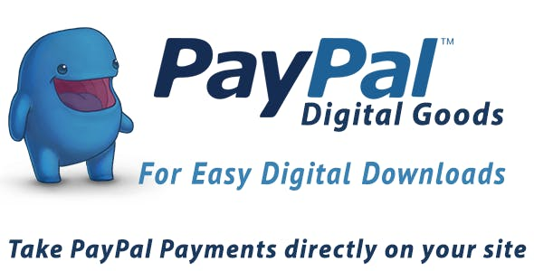 Paypal Digital Goods for Easy Digital Downloads