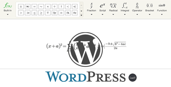 Wordpress Formula Editor Plugin