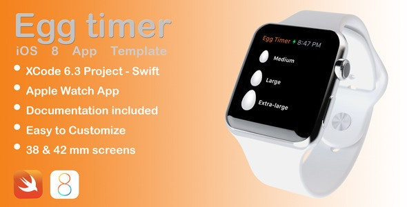 EggTimer Apple Watch app in Swift - CodeCanyon Item for Sale