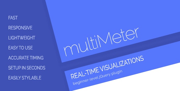multiMeter: Real-Time Rate and Value Visualization - CodeCanyon Item for Sale