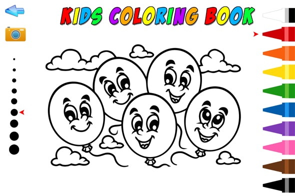 Kids Coloring Book - HTML5 Educational Game - CodeCanyon Item for Sale