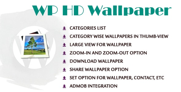 WPDroid HD Wallpapers - CodeCanyon Item for Sale