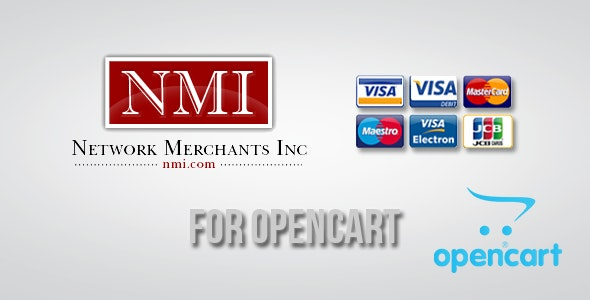 Network Merchants Inc Gateway for OpenCart - CodeCanyon Item for Sale