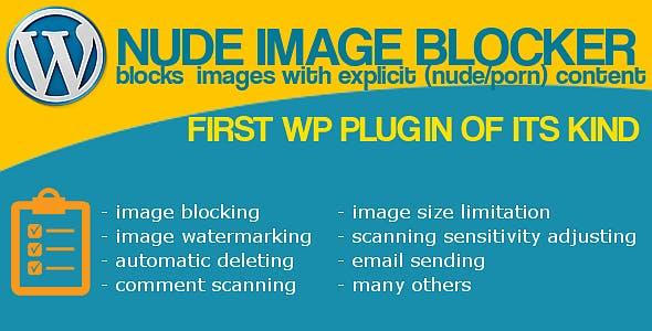 Nude Image Blocker Wordpress Plugin