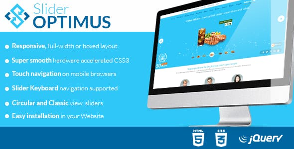 Optimus Slider - Responsive jQuery Plugin