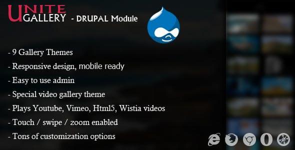 Unite Gallery - Drupal Module