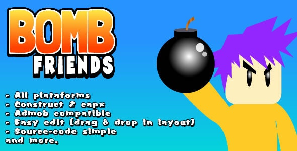 Bomb Friends Starter Kit - CodeCanyon Item for Sale