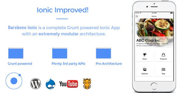 Barebone Ionic - Full Application