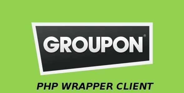 Groupon PHP Client - CodeCanyon Item for Sale