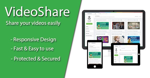 VideoShare - Video Sharing Platform - CodeCanyon Item for Sale