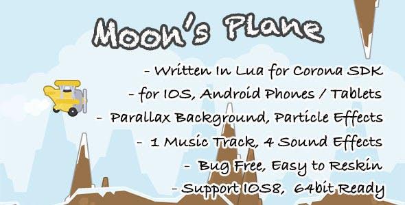 Moon's Plane: Game Template for Corona SDK