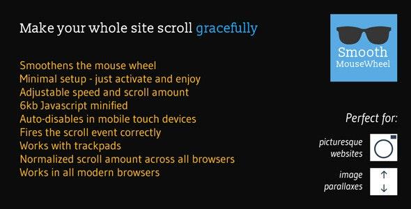 Smooth MouseWheel WordPress Plugin - CodeCanyon Item for Sale