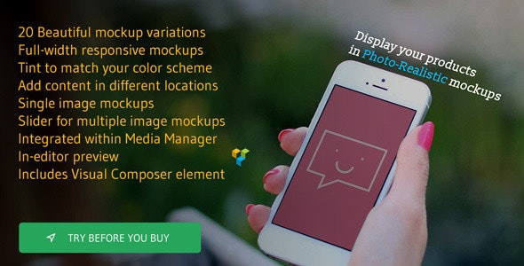 Photo Real Responsive Product Mockups - CodeCanyon Item for Sale