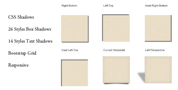CSS Box and Text Shadows