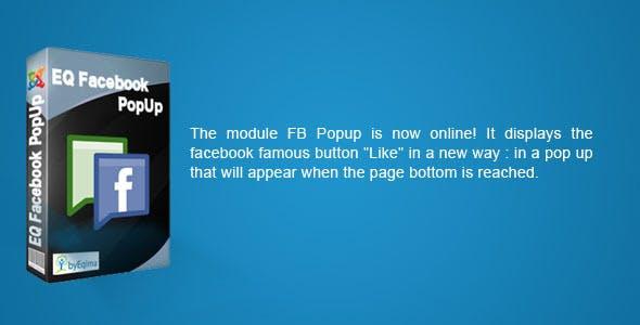 EQ Facebook Popup