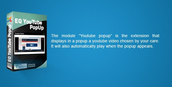 EQ Youtube Popup - CodeCanyon Item for Sale