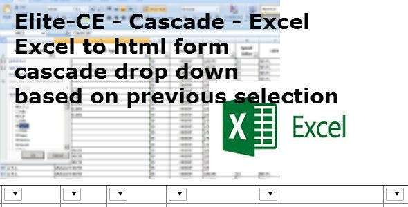 Excel To HTML Plugins, Code & Scripts from CodeCanyon