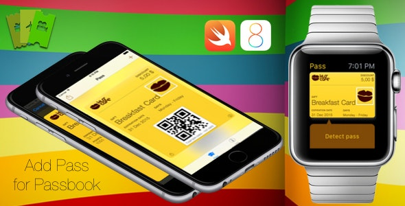 Add Pass for Passbook - CodeCanyon Item for Sale