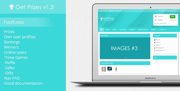 Get Prizes v1.3 - CodeCanyon Item for Sale