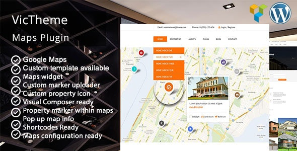 WPBakery Page Builder Google Maps Addons Pack - CodeCanyon Item for Sale