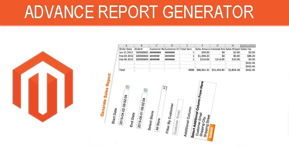 Advance Report Generator - CodeCanyon Item for Sale