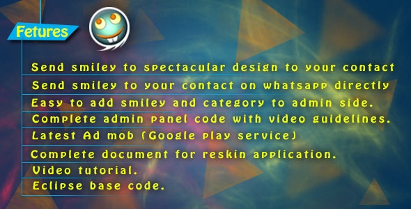 WhatsSmiley - With Admin Panel - CodeCanyon Item for Sale