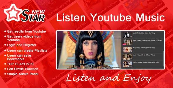 New STAR | Listen Youtube Music