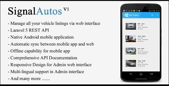 Signal Autos - Car Dealership App - CodeCanyon Item for Sale