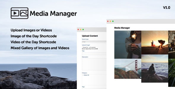 Wordpress Media Manager - CodeCanyon Item for Sale