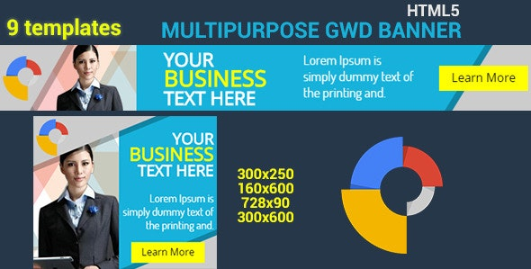HTML5 GWD Business Banner - 06 - CodeCanyon Item for Sale