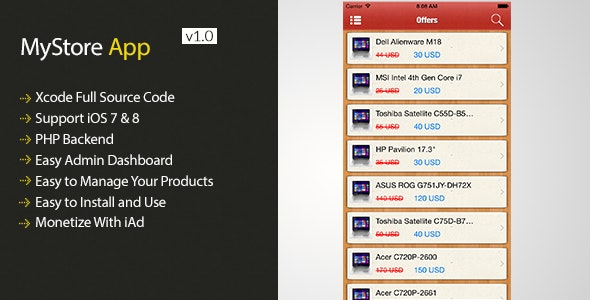 MyStore App - CodeCanyon Item for Sale