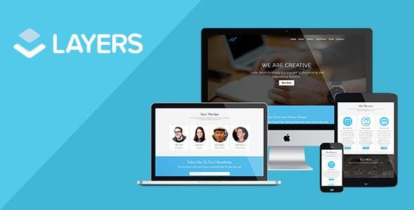 WMaker LayersWP Landing Page StyleKit