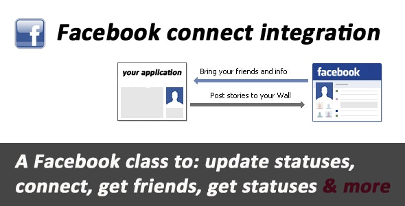 Facebook connect & API integration - CodeCanyon Item for Sale