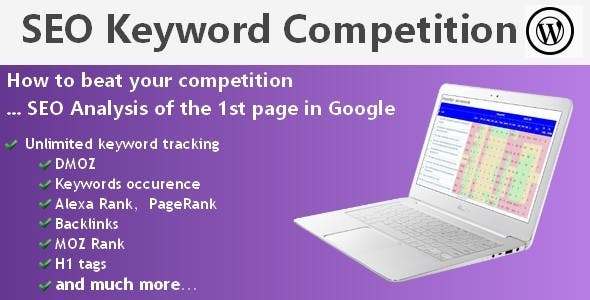 SEO Keyword Competition (Wordpress)