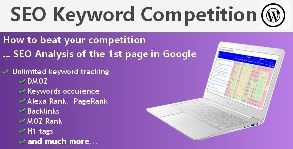 SEO Keyword Competition (Wordpress) - CodeCanyon Item for Sale