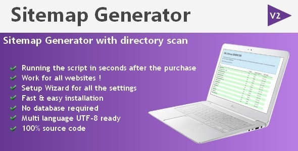 Sitemap Generator with directory scan - CodeCanyon Item for Sale