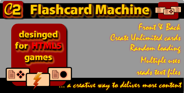 C2 Flashcard Machine - CodeCanyon Item for Sale