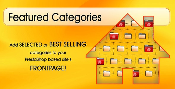 Responsive Featured Categories Module - CodeCanyon Item for Sale