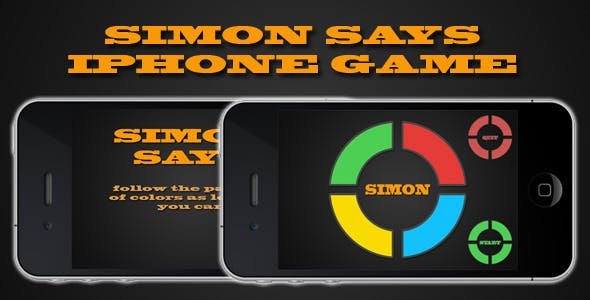 Simon Says iPhone Game