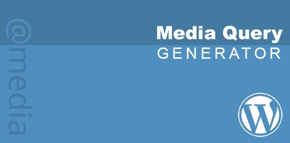 CSS Media Query Generator - CodeCanyon Item for Sale